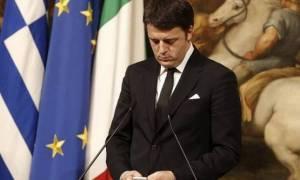 Ρέντσι: Η Ιταλία είναι προφυλαγμένη από μια διάχυση της ελληνικής κρίσης