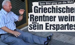 Bild: «Οκτώ στους δέκα Γερμανούς συμπονούν τους Έλληνες...»