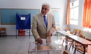 Δημοψήφισμα 2015 – Παυλόπουλος: Με ενότητα θα διανύσουμε τον δύσκολο δρόμο του αύριο (vid)