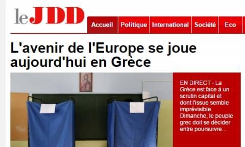 Δημοψήφισμα 2015: Οι Γάλλοι κρίνουν σε ποσοστό 65% ότι το δημοψήφισμα στην Ελλάδα είναι κάτι καλό