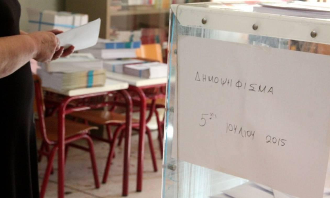 Δημοψήφισμα 2015: Με μια ώρα καθυστέρηση άνοιξε εκλογικό τμήμα στη Ναυπακτία