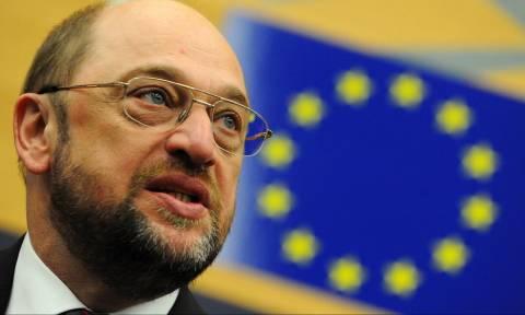 Δημοψήφισμα 2015 - Ωμός εκβιασμός Σουλτς: Αν η Ελλάδα ψηφίσει «όχι» βγαίνει από το ευρώ