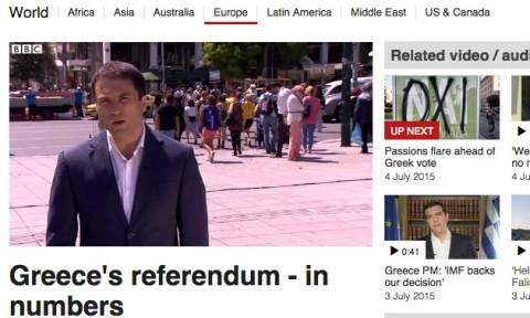 Δημοψήφισμα 2015 - BBC: Το ελληνικό δημοψήφισμα σε αριθμούς (video)
