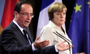 Δημοψήφισμα 2015: Συνάντηση Μέρκελ - Ολάντ αύριο στο Παρίσι