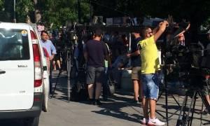 Δημοψήφισμα - Στην πλατεία Κλαυθμώνος οι υποστηρικτές του ΟΧΙ (photos+video)