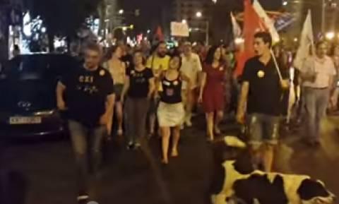 Αποτέλεσμα Δημοψηφίσματος-Πανηγυρισμοί και στη Θεσσαλονίκη για το «ΟΧΙ» (photos & video)