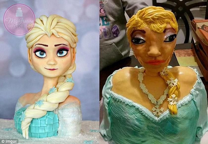 Παρήγγειλαν τούρτα - πριγκίπισσα… και τους έστειλαν ένα τρομακτικό πλάσμα! (photo)