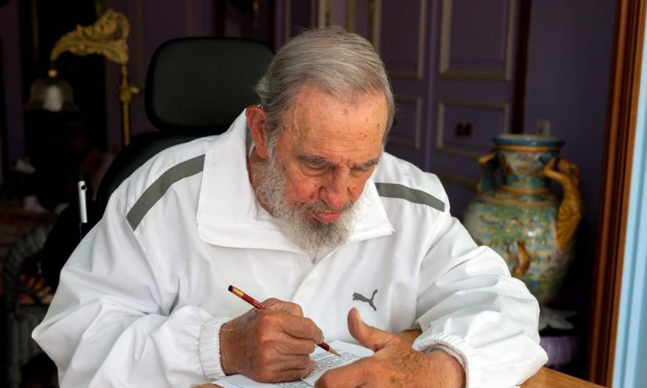 Αποτελέσματα δημοψήφισμα 2015: Επιστολή του Φιντέλ Κάστρο στον Αλέξη Τσίπρα