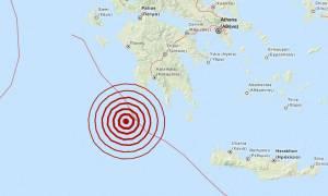 Σεισμός 4,5 Ρίχτερ νότια της Μεθώνης (pic)