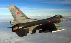 Τα τουρκικά αεροσκάφη κάνουν βόλτα...πάνω από το Αιγαίο