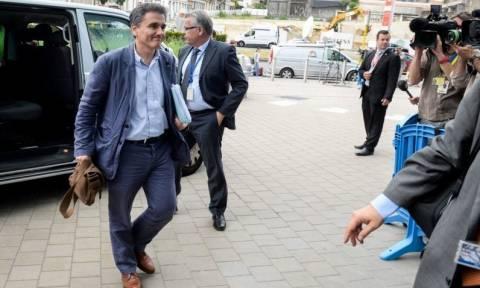 Eurogroup: Αλήθεια, πώς υποδέχθηκε ο Γ. Ντάισελμπλουμ τον Ε. Τσακαλώτο; (Photos)