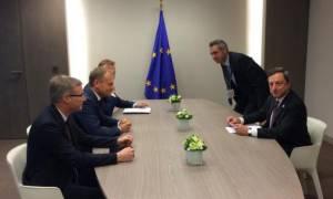 Σύνοδος Κορυφής: Συνάντηση Τουσκ - Ντράγκι