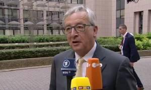 Γιούνκερ: Δεν έχουμε νέο έγγραφο από την Ελλάδα - Όλα εξαρτώνται από τον Τσίπρα