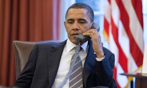 Τηλεφωνική επικοινωνία Ομπάμα με Τσίπρα και Μέρκελ