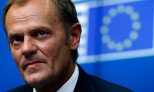 Σύνοδος Κορυφής - Τουσκ: Πιέζει για μία πρώτη συμφωνία σήμερα