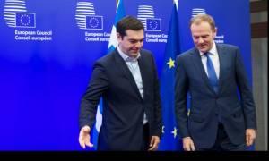 Σύνοδος Κορυφής - Τουσκ: Όποιος νομίζει πως μία χρεοκοπία αποκλείεται, αυταπατάται (vid)