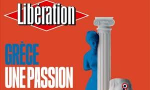 Το φιλελληνικό πρωτοσέλιδο της Liberation: Ελλάδα, ένα γαλλικό πάθος