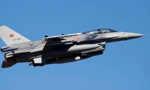 Υπερπτήση τουρκικού αεροσκάφους σε Αγαθονήσι - Κουνελονήσι