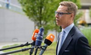 Στουμπ (Φιλανδός ΥΠΟΙΚ): Σύντομα θα υπάρξει συμφωνία - Δεν επιθυμούμε ένα Grexit