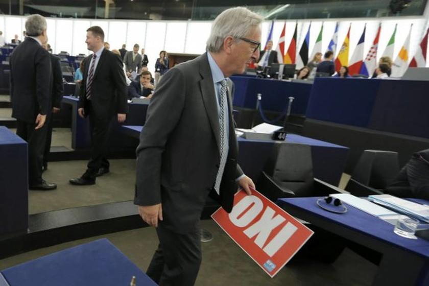 Ευρωκοινοβούλιο – Στον... κόσμο του ο Γιούνκερ – Είχε όρεξη να... τρολάρει τον Τσίπρα (pics)