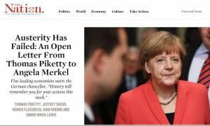Οικονομολόγοι προς Μέρκελ: Η ιστορία θα σας θυμάται για αυτά που θα πράξετε αυτήν την εβδομάδα