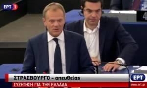 Ευρωκοινοβούλιο - Τουσκ: Χρειαζόμαστε ενότητα (video)