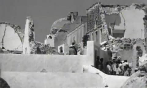 Σαν σήμερα το 1956 ο σεισμός 7,3 Ρίχτερ στην Αμοργό