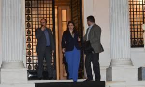 Συμφωνία: Στο Μαξίμου η Ζωή Κωνσταντοπούλου