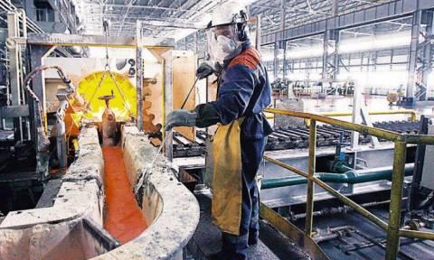 Πτώση της βιομηχανικής παραγωγής τον Μάιο