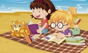 Βιβλία με δημιουργικές δραστηριότητες για το καλοκαίρι από τη Φοίβη Λέκκα!