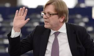 Συμφωνία - Χαιρετίζει την υπερψήφιση της ελληνικής πρότασης ο Φερχόφσταντ
