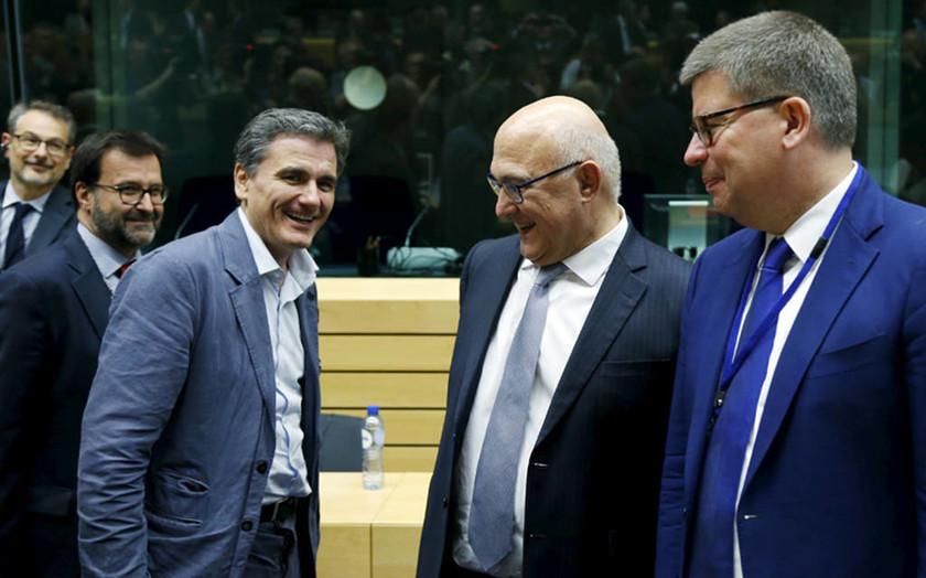 Eurogroup: Οι πρώτες φωτογραφίες από την κρίσιμη συνεδρίαση