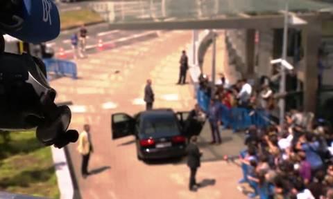 Eurogroup: Βίντεο από τα παρασκήνια της συνεδρίασης