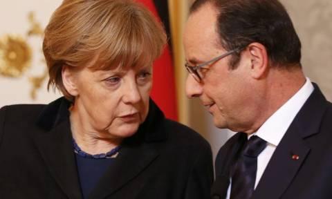 Σύνοδος Κορυφής - Έξαλλος ο Ολάντ με τον Σόιμπλε -  Τι είπε στην Μέρκελ
