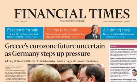 Σύνοδος Κορυφής – FT: Αβέβαιο το μέλλον της Ελλάδας στην Ευρωζώνη (photo)
