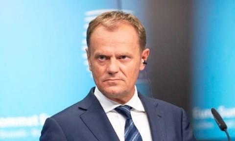 Σύνοδος Κορυφής - Τουσκ: Είχαμε στόχο μόνο τη Συμφωνία