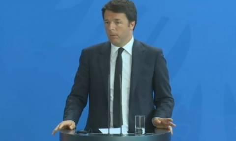 Σύνοδος Κορυφής - Ρέντσι: Ζήτησα να μην επιλεγεί ως έδρα του Ταμείου Επενδύσεων το Λουξεμβούργο