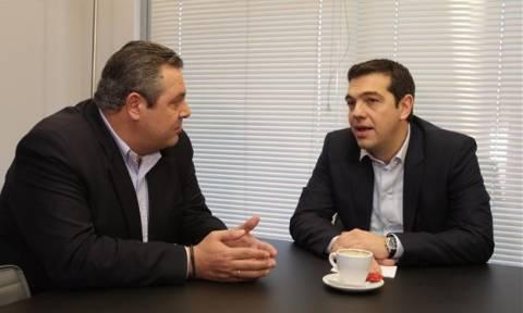 Συμφωνία: Κρίσιμη συνάντηση Τσίπρα - Καμμένου εντός της ημέρας