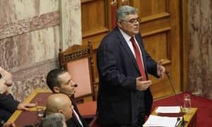 Συμφωνία - Μιχαλολιάκος: Η Χρυσή Αυγή θα αγωνιστεί να μην περάσουν τα σχέδια της ξενοκρατίας