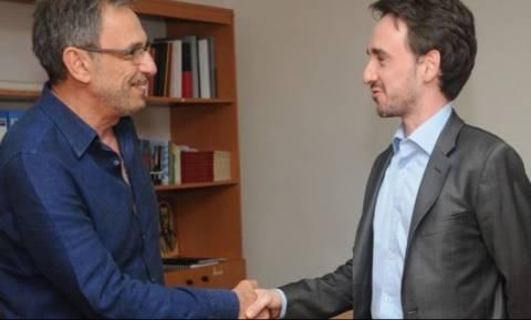 Συνάντηση του προέδρου της ΕΡΤ με τον πρέσβη της Βενεζουέλας