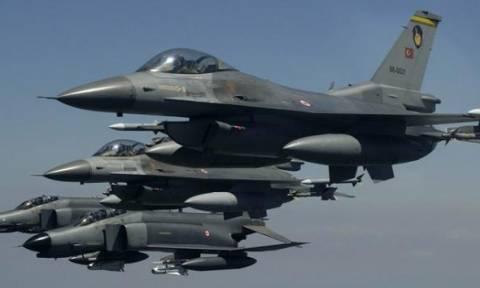 Νέα πρόκληση των Τούρκων με παραβιάσεις και εικονική αερομαχία