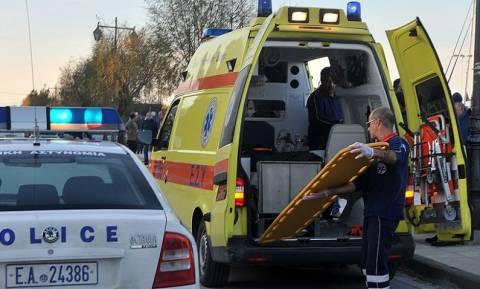 Χαλκίδα: Δύο σοβαρά τραυματίες σε τροχαίο