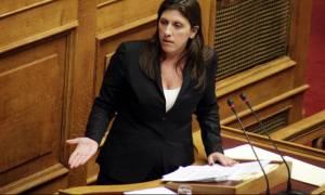 Ανασχηματισμός - Ζωή Κωνσταντοπούλου: Η Βουλή δεν πρέπει να αποδεχθεί τον εκβιασμό