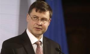 Ντομπρόβσκις: Ο EFSM είναι η καλύτερη επιλογή για βραχυπρόθεσμη χρηματοδότηση της Ελλάδας