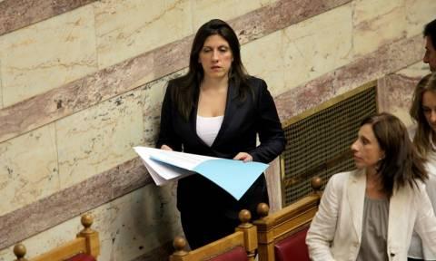 Μνημόνιο 3 – Βουλή: Αιχμές Κωνσταντοπούλου για τη διαδικασία – Αποχώρησε από το προεδρείο