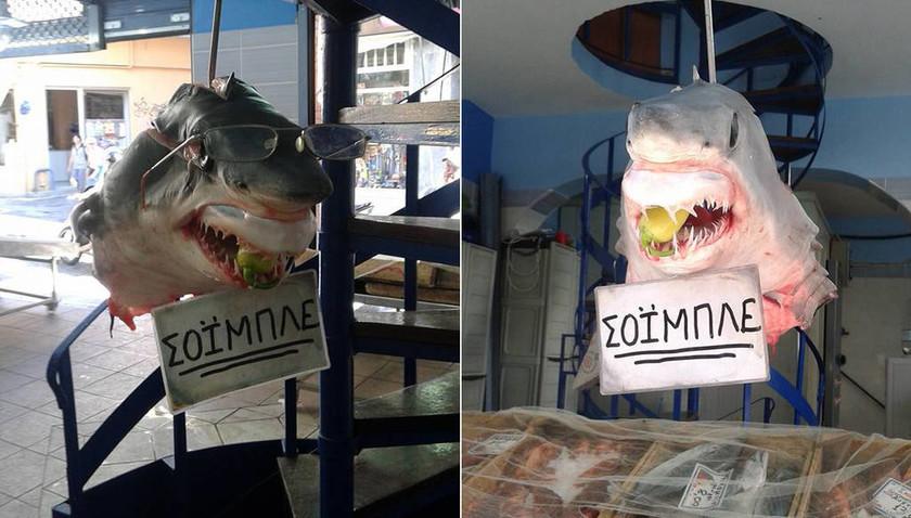 Ο Σόιμπλε έγινε καρχαρίας και viral...