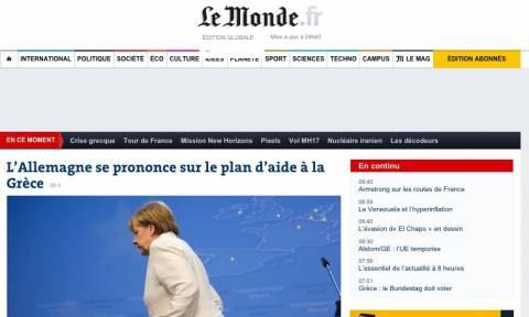 Μνημόνιο 3 - Le Monde: Η συμφωνία θα περάσει από το γερμανικό κοινοβούλιο