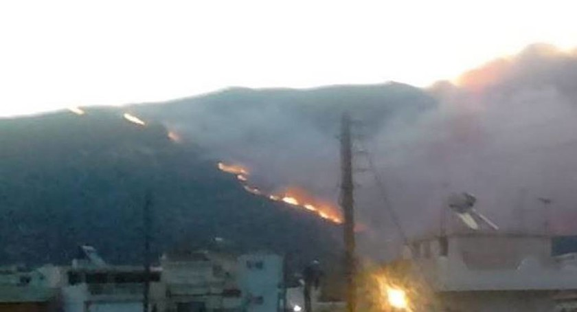 Δραματική η κατάσταση στη Λακωνία-Εκτός ελέγχου μαίνεται η μεγάλη πυρκαγιά (photos&video)