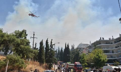 Φωτιά στον Καρέα: Δείτε τις συγκλονιστικές εικόνες (photos&video)