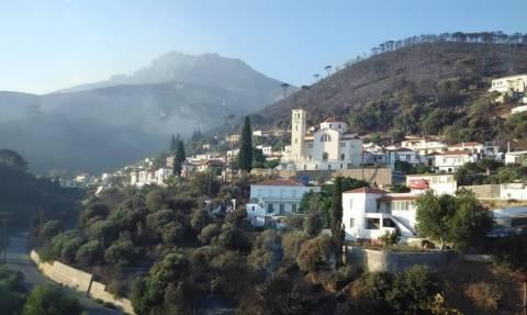 Πυρκαγιές: Σε ύφεση τα πύρινα μέτωπα της Πελοποννήσου